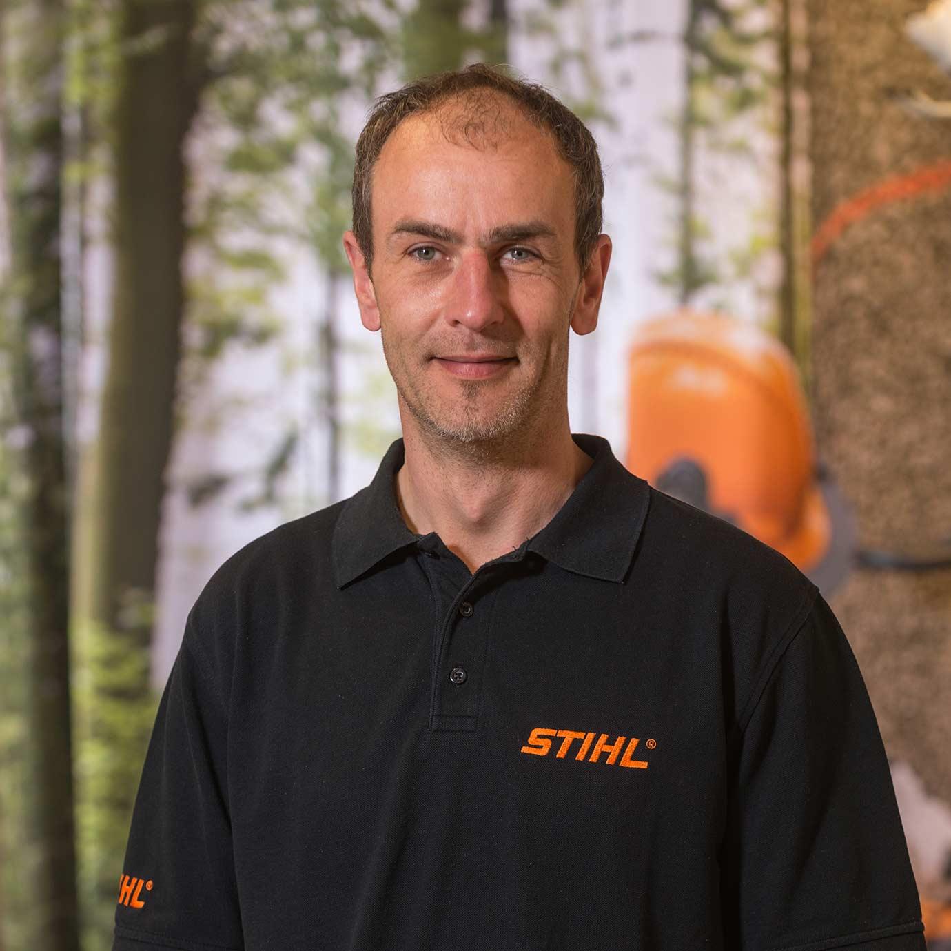 Geschäftsführer Gonschorek der Forst- und Gartenmarkt Uder GmbH